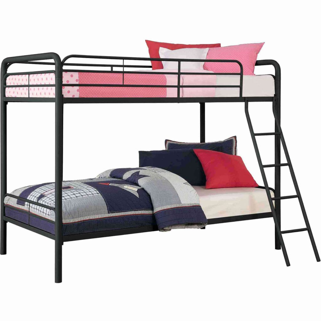Dhp Twin Over Twin Metal Bunk Bed Reviews Upholstered